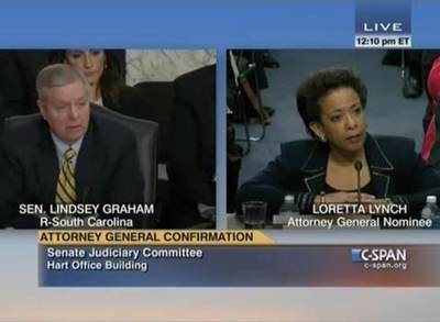 News video: Loretta Lynch Says She Doesn't Support Marijuana Legalization